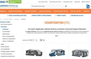 Coppens Rekreatie website