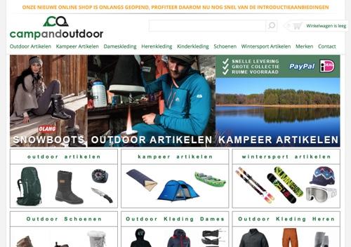 campandoutdoor website