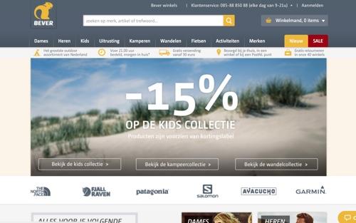 Bever Enschede website