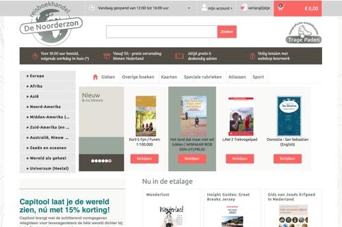 De Noorderzon website