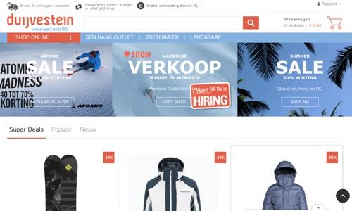 Duijvestein Wintersport Zoetermeer website