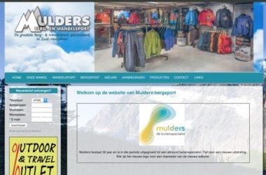 Mulders Berg- en Wandelsport website