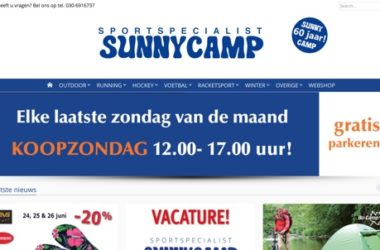 Sunny Camp website