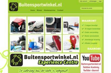 buitensportwinkel.nl website