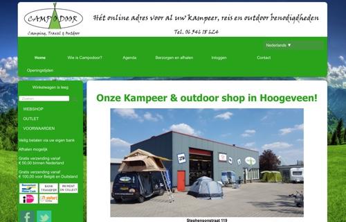 campodoor website