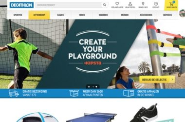 decathlon.nl website
