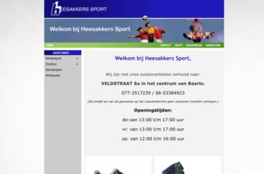 heesakkers sport website