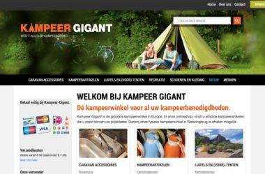 kampeer gigant website