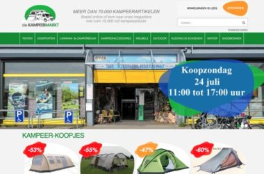 kampeermarkt website