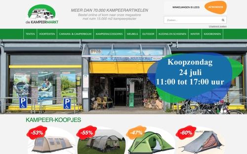 kampeermarkt website