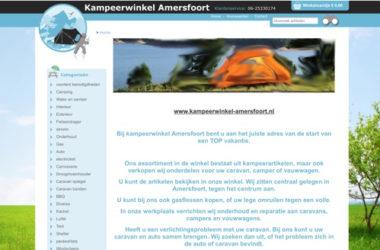 kampeerwinkel amersfoort website