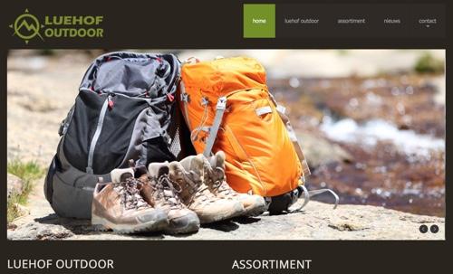 luehof outdoor website