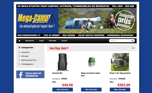 mega-camp website