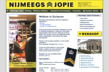 nijmeegs jopie escharen website