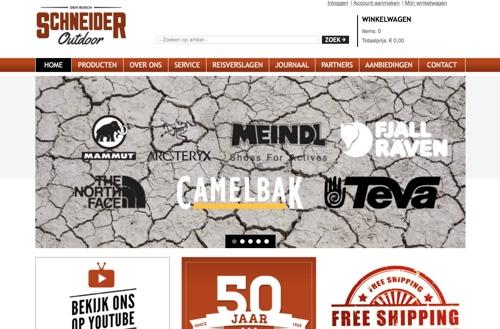 schneider outdoor website