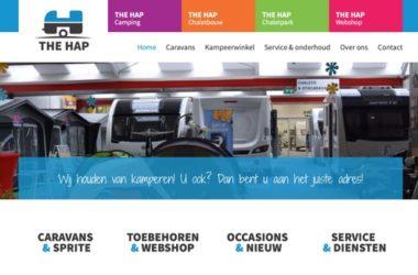 the hap caravans website