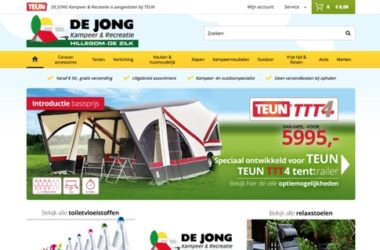 website de jong recreatie