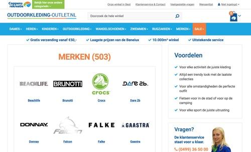 website-outdoorkleding-outlet-nl