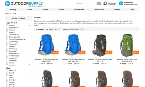 website outdoorsupply.nl