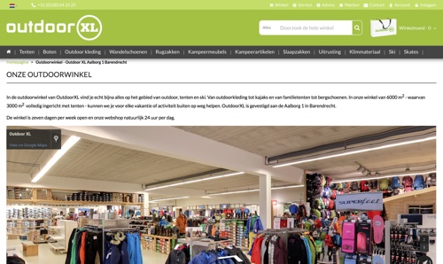 Vrijbuiter Gouda | Tenten en Kampeerwinkel Outdoorwinkels.nl
