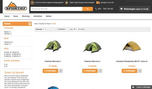 website-sportief-tilburg