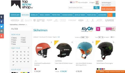 website topsnowshop