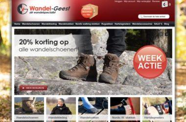 wandel-geest.nl website