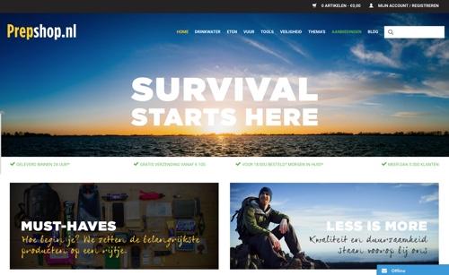 website prepshop.nl