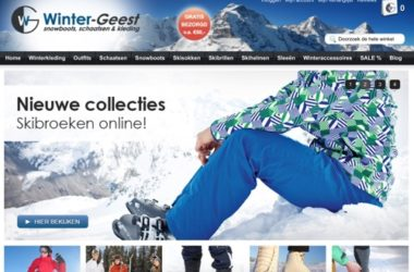winter-geest.nl website
