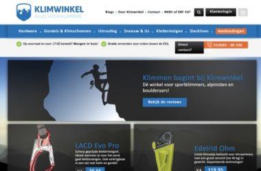 klimwinkel.nl website