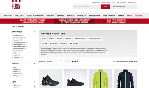 perry sport website
