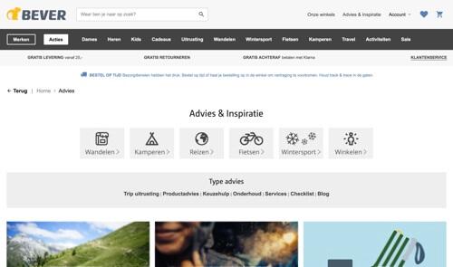 bever-den-haag-outlet-store-website